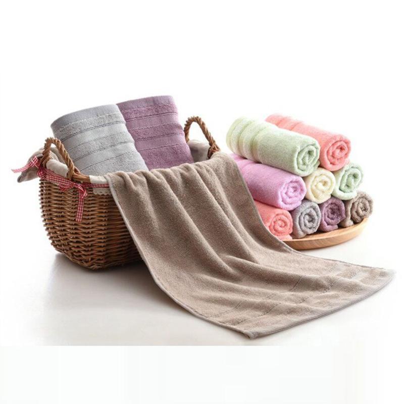 Superabsorbants doux débarbouillettes Le bain en coton pur Siege Retour Votre serviette de bain de lavage des serviettes de serviette de visage pour serviettes adultes
