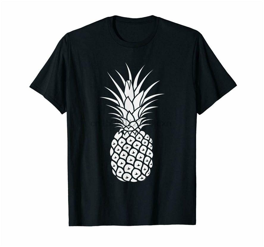 Ananas Casual Yaz Meyve Unisex Tişört Beden M-3XL Komik Tasarım Tee Gömlek