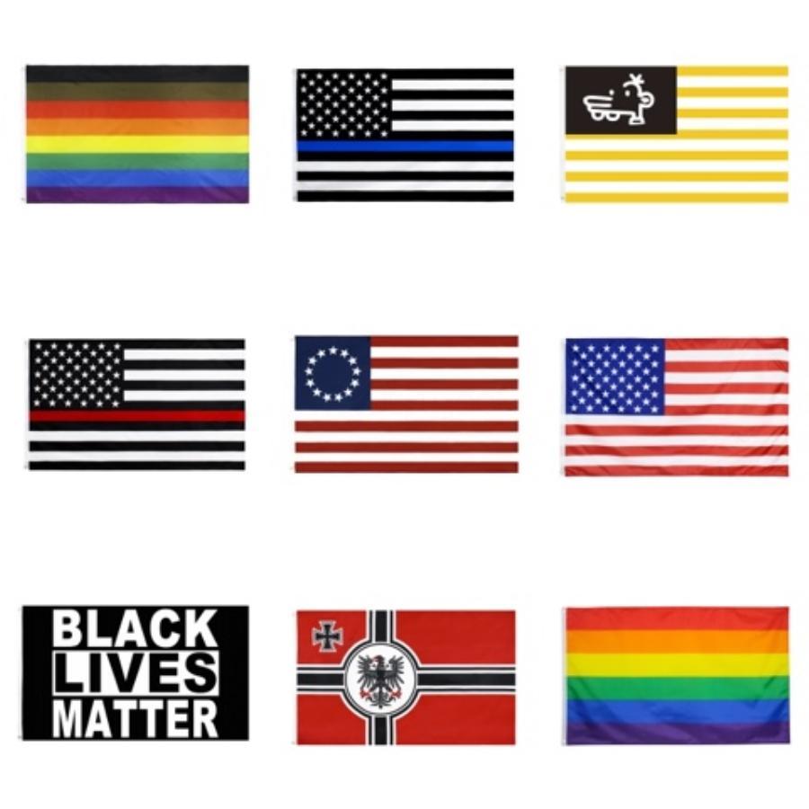 트럼프 2020 미국 국기 풍선 스틱 치어 리더는 스틱 반대는 스틱 소음 발생기 USA 일반 선거 # 579 공급 응원