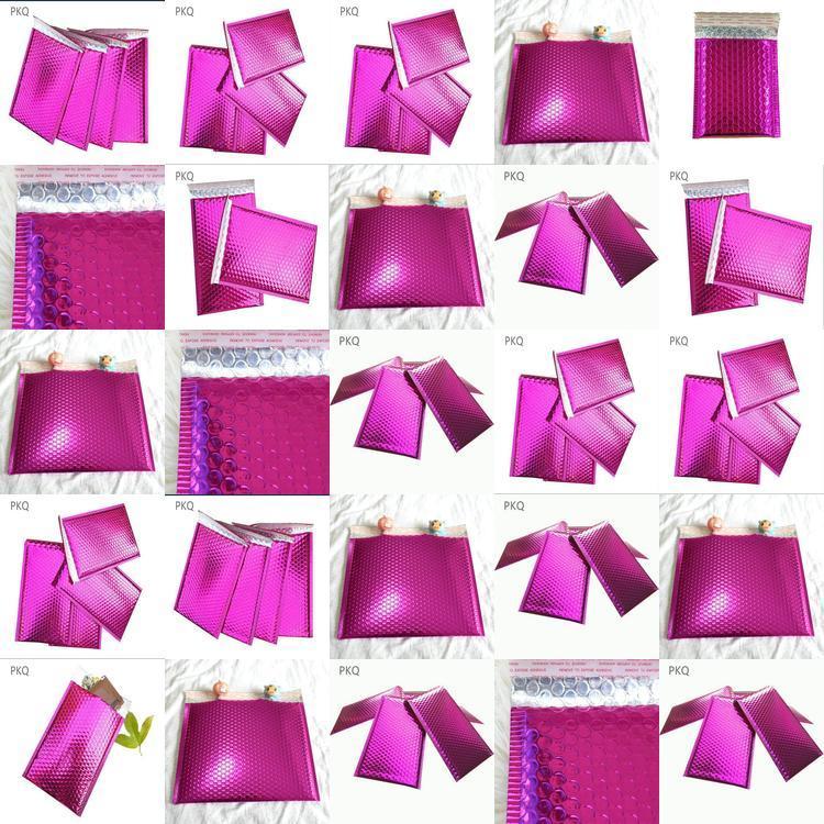 Bolha metálico Utentes metálico acolchoados envelopes bolha lilás Matt metálicas Malas C5 grande bolha Bags acolchoados envelopes xLHqD xhhair