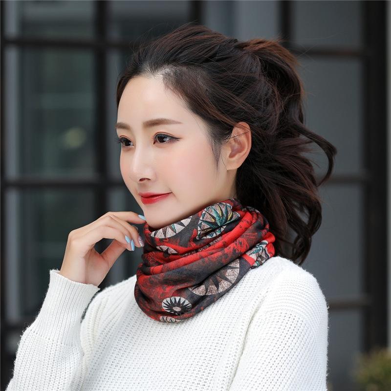 Sombrero femenino de Corea del estilo delgado velo mágico luna cabeza de la moda cabeza cómoda tapa de la quimioterapia gorro de dormir calva pañuelo mágico