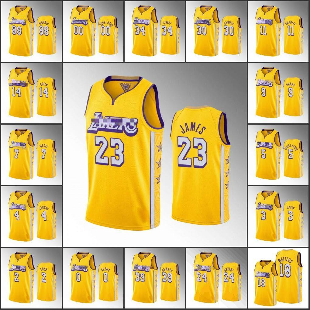 Los AngelesLakersKobeBryantErkekler LeBron James AnthonyDavisNBA 2020 Sınırlı Özel Basketbol Forması