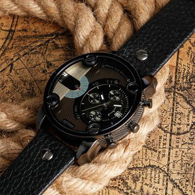 Мужская мода внешней торговли Новый горячий Большой набор Оригинальный кварцевые часы Мода военные часы завод прямых продаж