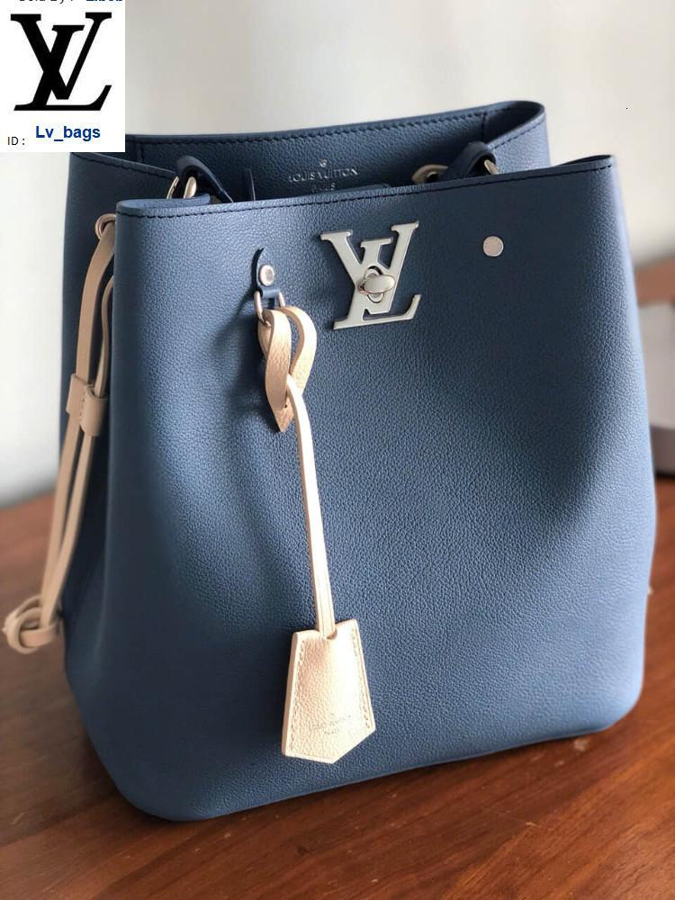 Yangzizhi New Smog Blue Rice White Color Bucket Bag Handbags Bags Top Handles Shoulder Bags Totes Evening Cross Body Bag
