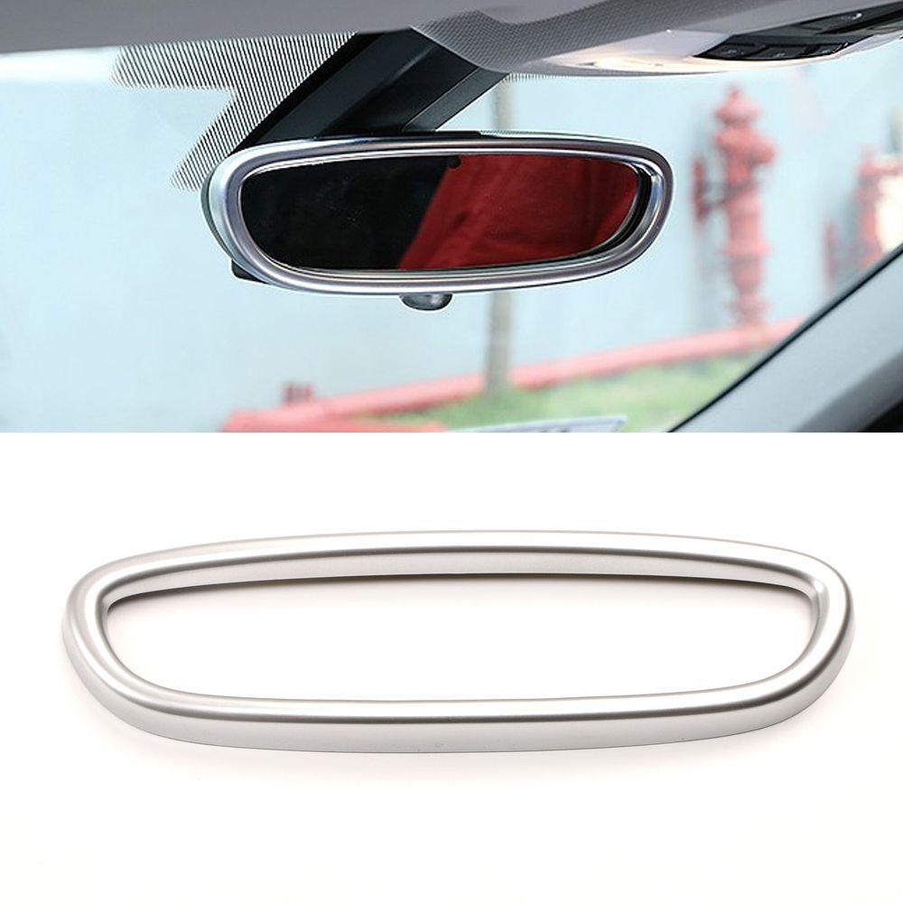 Acessórios Auto Car Interior Espelho Retrovisor Círculo guarnição moldura tampa da etiqueta Decoração moldagem para BMW X1 F48 2016-2020