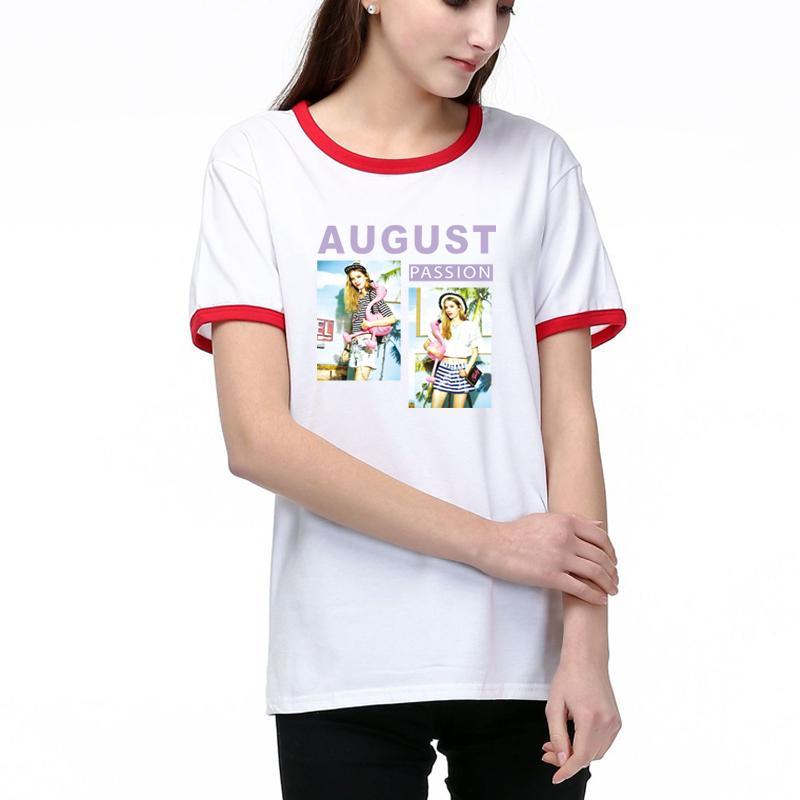 Femmes Designer T-shirts d'été Mode Tops Lady T-shirts manches courtes respirant motif imprimé T-shirts Chemise meilleure qualité de coton Mélange ph