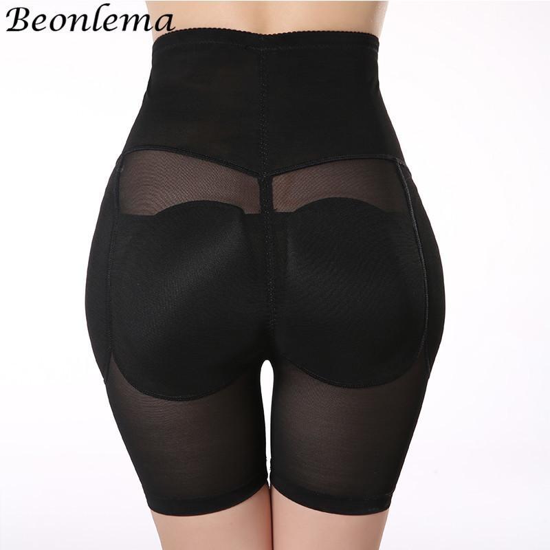 Beonlema Kontrol Pantolon Butt kaldırıcı Kalça Yukarı yastıklı Sahte Ass Külot Kaldırma Kadınlar Yüksek Bel İç Butt Enchancer Shaperwear MX200711