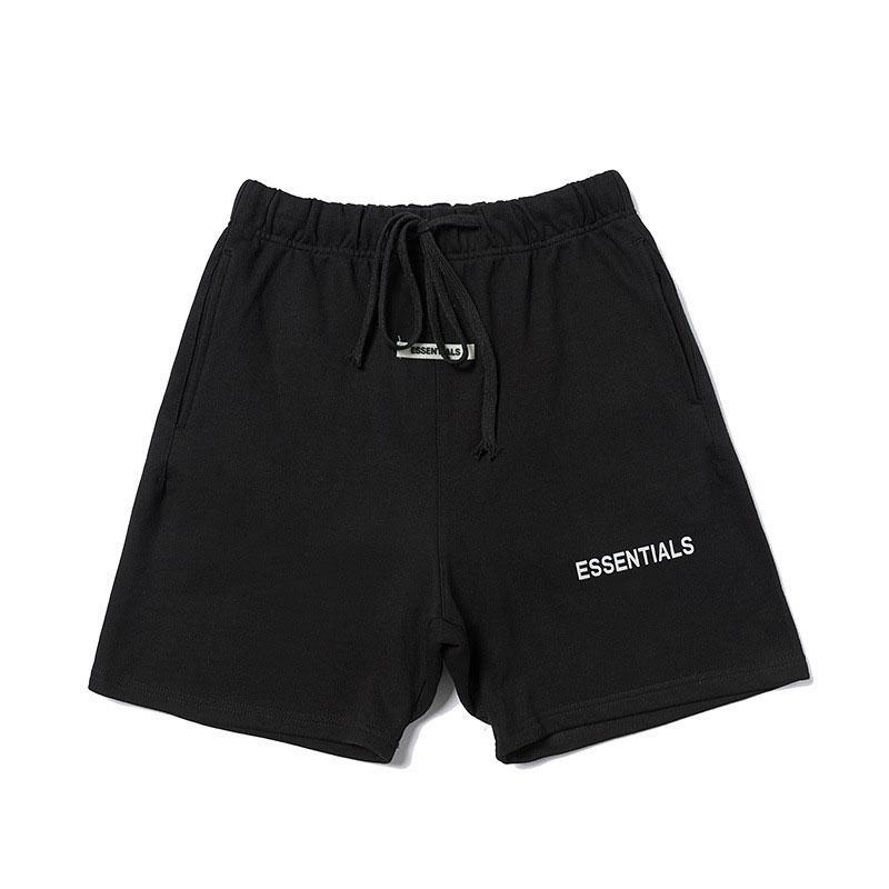 Pantalons pour hommes 2020 New Hot Dieu Peur court Pantalons Shorts Casual Classique Designer Lettre mode 2-Colores sélectionné Taille: S-XL