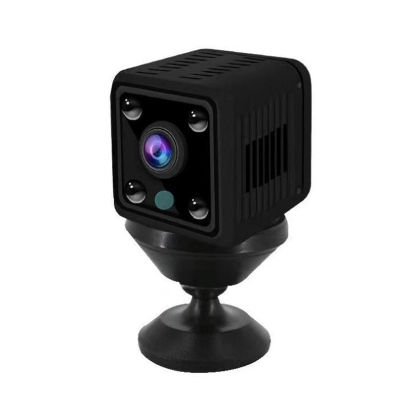 X6 مصغرة HD كاميرا 1080P اللاسلكية واي فاي شبكة الأشعة تحت الحمراء للرؤية الليلية المراقبة عن بعد المنزل + مربع التجزئة المتأنق