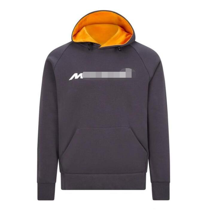 2020 explosion model F1 Formula One hooded sweater team suit MCL35 casual sports sweater windproof and warm