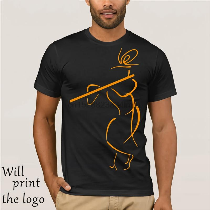 Krishna maglietta Krishna Hare Krishna T-shirt Impressionante Uomini Tee Shirt 100 Oversize Streetwear breve manicotto maglietta del cotone Graphic