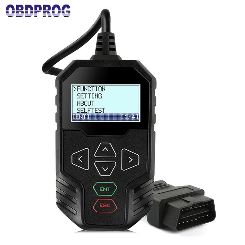 OBDPROG MT008 OBD2 Scanner Odometer Correction Tool for VAG AUDI SKODA GOLF IBIZA LEON MQB Adjust Mileage Correction Diagnostic