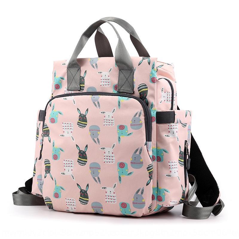 la madre del bolso mamá madre 2020 nueva moda y el bebé portátil de hombro de gran capacidad mochila ligera excursión de la moda mochila