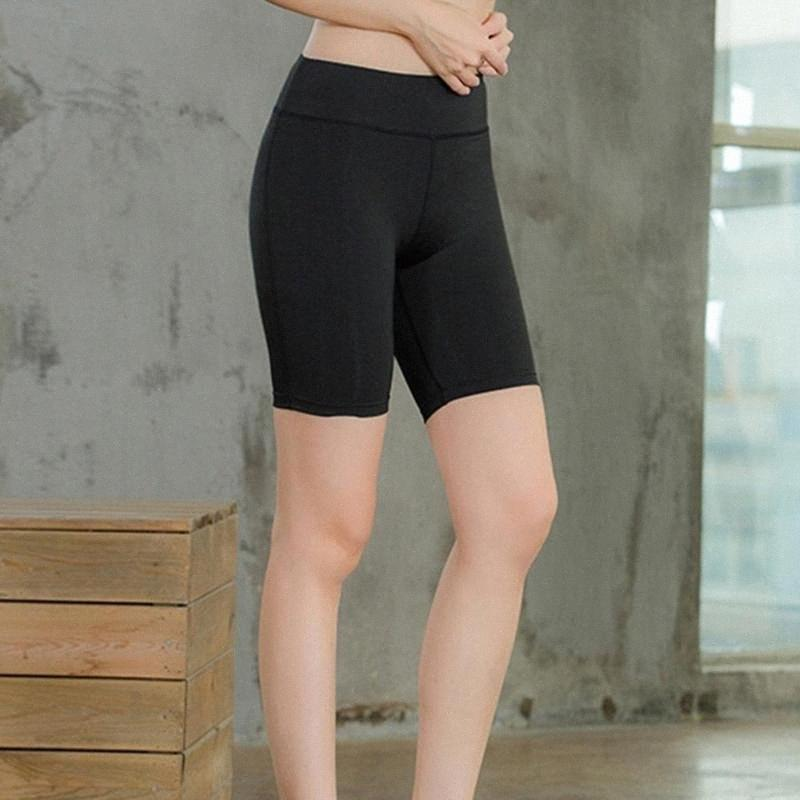 Женская высокий Wait Йог Брюки Светоотражающие полосы Ночной Идущая быстросохнущий Pant Лето Длину колено Фитнес Legging Женский 2020 rLYp #