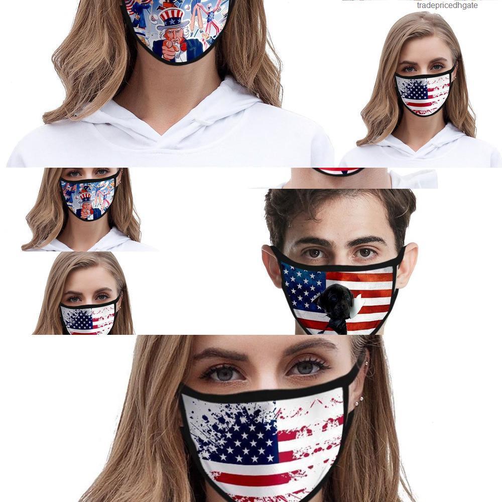 Yıkanabilir 3d Moda Karikatür Baskılı Tasarımcı Pamuk Ağız Maskeleri PM2.5 toz geçirmez ve 6o16 6bow