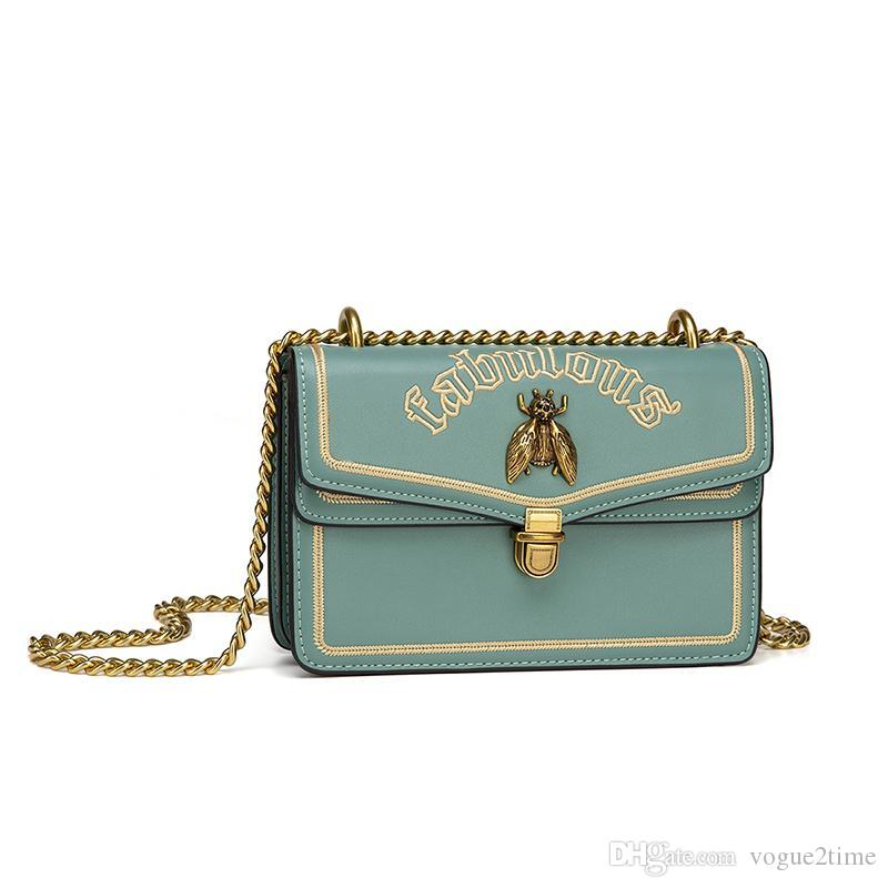 Lady ombro saco de abelhas saco sacos mola novo mensageiro sacos de moda e verão pequeno CK novo saco feminino 1041