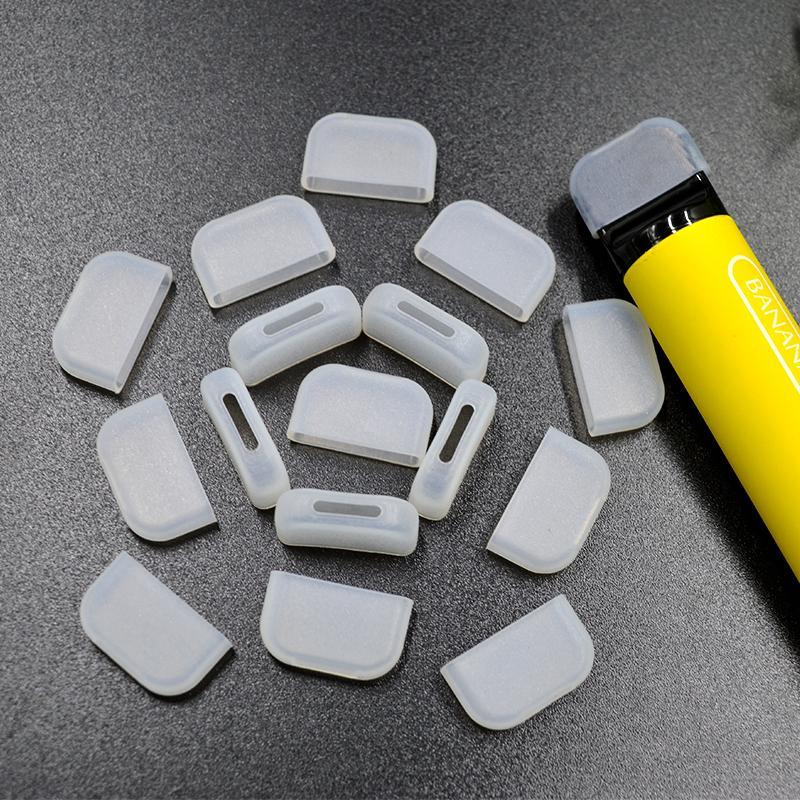 EGo Ecig Silikon Ağızlık Kapak Damla Ucu Tek Kullanımlık Silikon Test Kapakları Kauçuk kısa Test İpuçları Tester Cap CE4 510 Atomizer Için Damla İpuçları