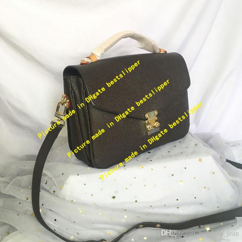 M44876 Pochette Monogramme Klassische Messenger Bag Tasche Damen Metis Crossbody Flap Reverse Canvas Handtasche Taschen Tasche Mode Abend Frauen Smji