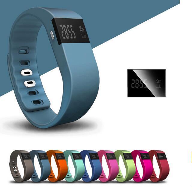 actividad física impermeable IP67 inteligente pulseras TW64 bluetooth perseguidor SmartBand pulsera pulsera de reloj no Fitbit ajuste Flex mordió envío gratis