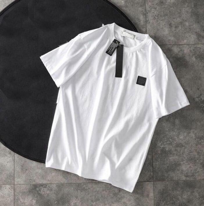 Erkek Tasarımcı tişörtleri Yaz Erkekler ve Kadınlar Kısa Kollu Üst Tees Rozet Gömlek Erkek Giyim Beden S --- 3XL Yüksek Quanlity