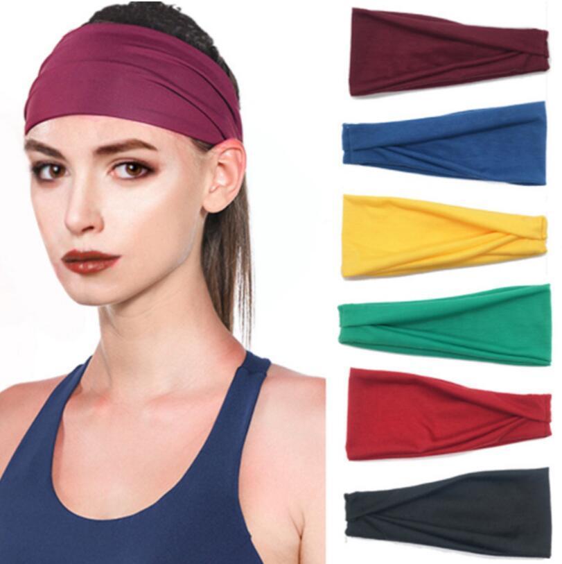 Nieuwe mannen en vrouwen sport hoofdband uitgevoerd fitness yoga haarband haaraccessoires Boheemse stijl