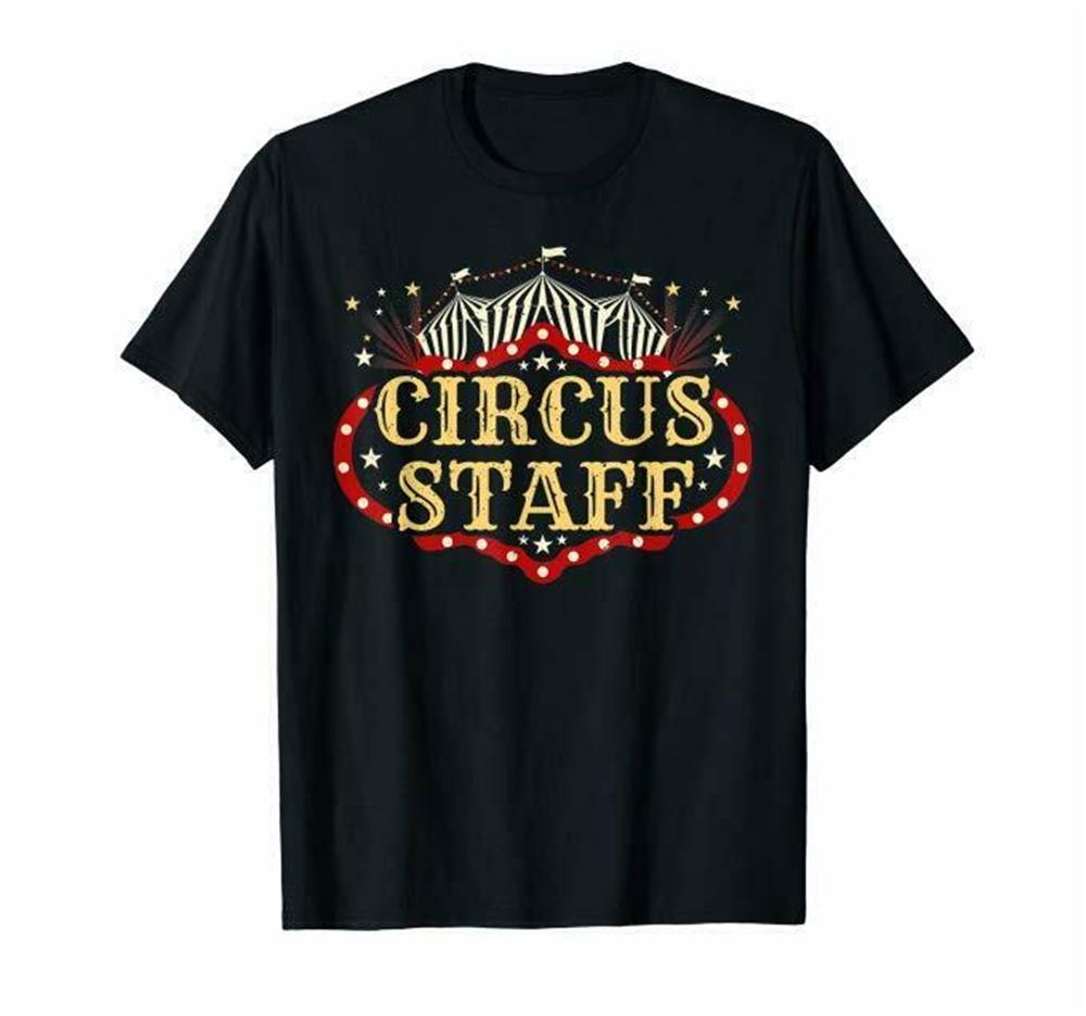 Vintage Circus Themed Birthday Party T Shirt - Event Staff T-Shirt Brand Clothing Tee Shirt