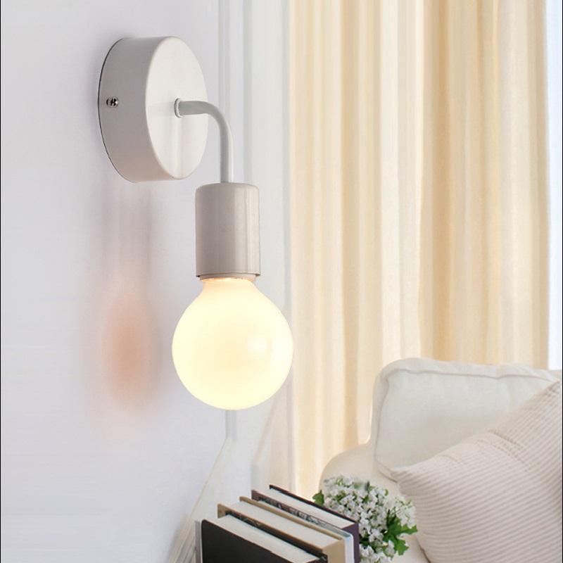 Wall Lamp Led Wall Light Wandlamp Metal Iron Vintage Bedroom Bathroom Mirror Light Industrial Decor Applique Murale Luminaire