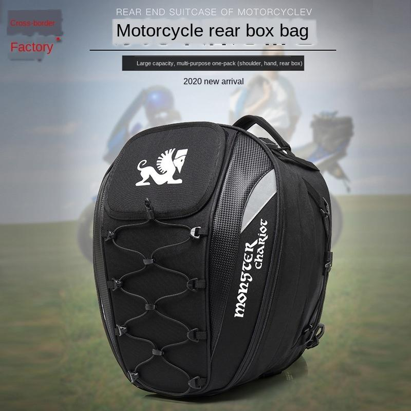 outdoor trunk rear seat motorcycleLuggage motorcycle motorcycle helmet bag motor vehicle multifunctional sports bag