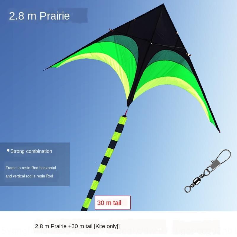 Новый Kirin кайт большого высокого класса Prairie взрослого экстренное большой зонт ткань Вэйфан Кирин змей тело ветер летать треугольник гигантского тела