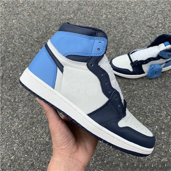 Высокий OG 1 парус Осидианский университет синий баскетбол обувь мужские спортивные кроссовки все звезды игры кроссовки обувь обувь