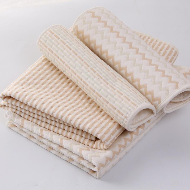 Macchina traspirante strato d'aria tessuto impermeabile bambino su due lati urine pad cotone colore rilievo dell'urina padfour-strato lavare puro cotone