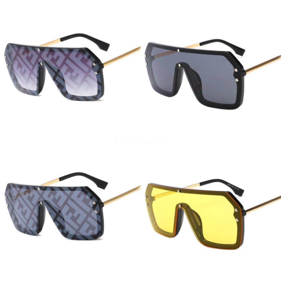 Denisa Vintage Cat Eye Femmes Double F Lunettes de soleil 2020 nouvelle mode des femmes est au volant Lunettes rétro Lunettes de soleil UV400 Zonnebril Dames FF # 471