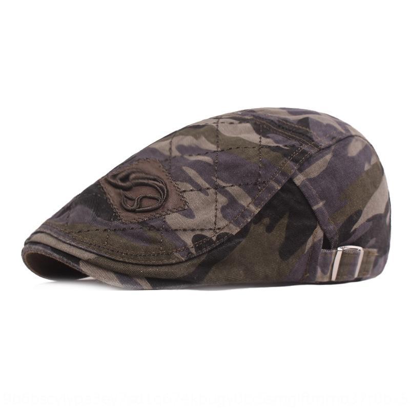 cap Pointed cap boina chapéu frente repicado dos homens camuflagem boina sol-prova para as mulheres
