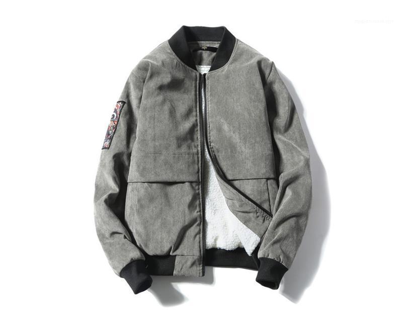 Стенд Воротник подростковая Baseball Uniform Плюс Размер Верхняя одежда Мужской одежды Mens конструктора пальто куртки осень зима