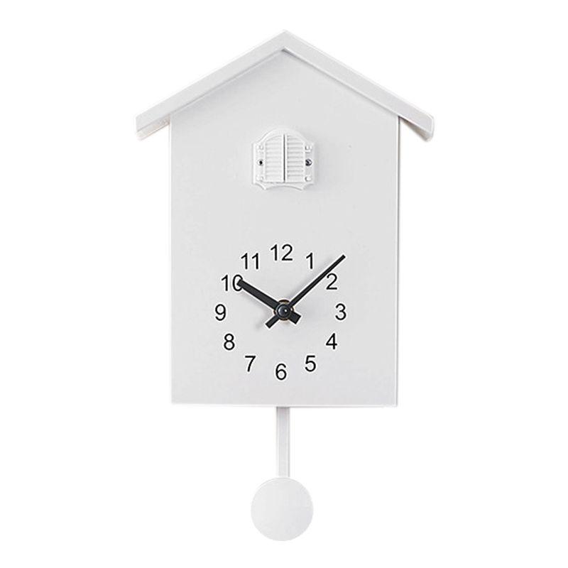 Orologio a cucù parete Orologeria Movimento Chalet-stile minimalista Modern Design