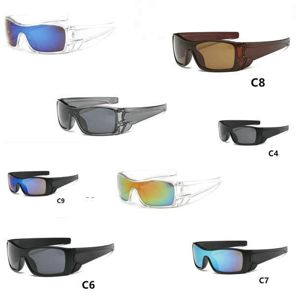 Livraison gratuite 9 couleurs EXCELLENTE nouvelle marque lunettes de soleil pour hommes Femmes Mode Sport Googel style Lunettes.