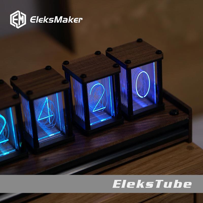 RGB pseudo bagliore orologio tubo kit fai da te del tavolo LED decorazione creativa