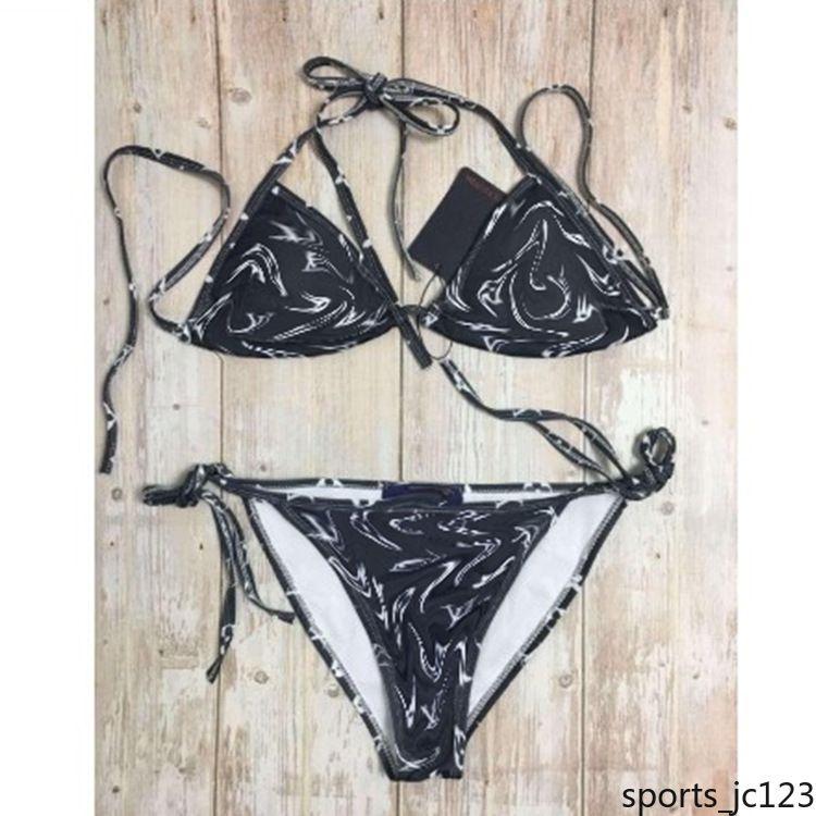 vente en gros Maillot de bain Sexy bretelles Pineapple Imprimer Bralette Ensemble bikini bandeau bikini bain