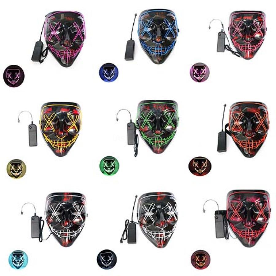 Mode Halloween Cosplay Schädel-Partei-Schablonen-halbe Gesichts-Ausdruck Staubmasken für Ski Radfahrer-Motorrad-Reiniger Masken HH7-17 # 733