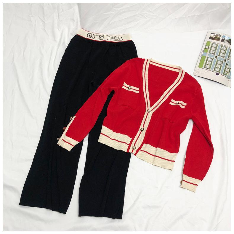 708 envío gratis 2020 verano marca el mismo estilo imperio v cuello flora impresión con paneles manga larga vestido rojo rojo qian