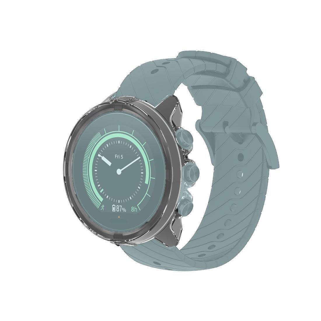 Suunto 9 Şeffaf TPU Silikon Watch Case For