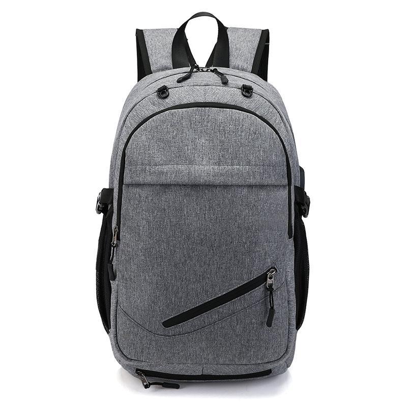 الرجال ماء الأعمال 15.6 بوصة محمول حقيبة الظهر bagpack العسكرية الطلاب مدرسة عودة حزمة أكياس الأزياء WJJ
