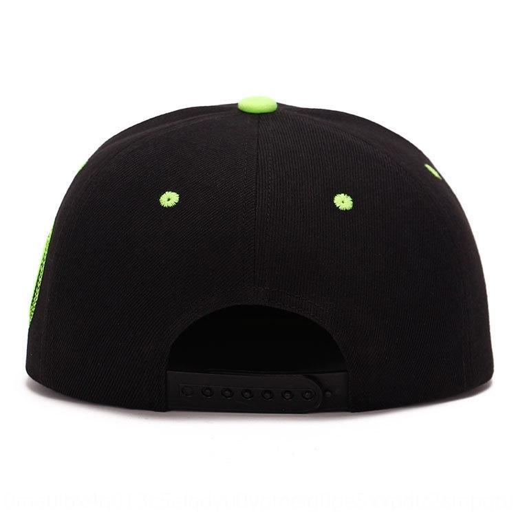 Tough cap cap running brother Lu Han the same hip-hop hat men's and women's running men RN flat edge sunshade hip-hop hat
