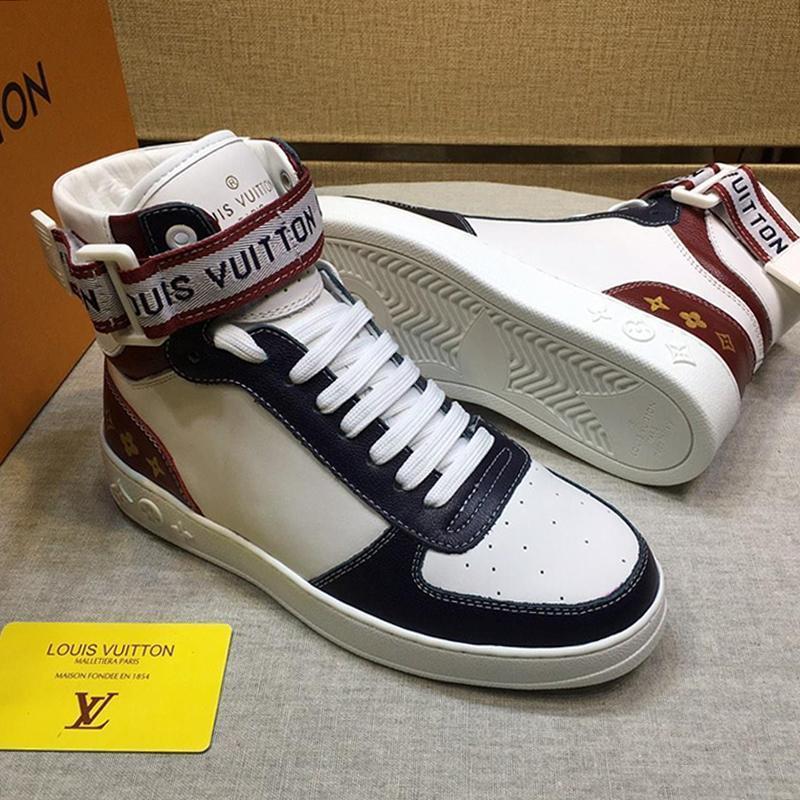 Neue schnelle Anlieferung Boombox Sneaker Herrenschuhe im Freien zu Fuß atmungsaktive Schuhe Bequeme Vintage-Männer Stiefel Fashion Sneakers Wohnungen Platforms