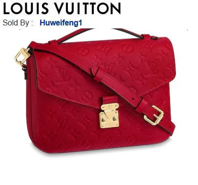 huweifeng1 POCHETTE METIS M44155 HANDBAGS SHOULDER MESSENGER BAGS TOTES ICONIC CROSS BODY BAGS TOP HANDLES CLUTCHES EVENING
