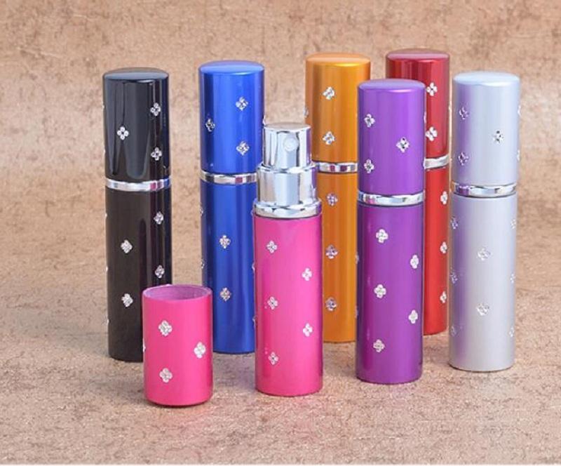 Toppkvalitetsresor Parfym Atomizer Refillerbar Spray Tom Flaska