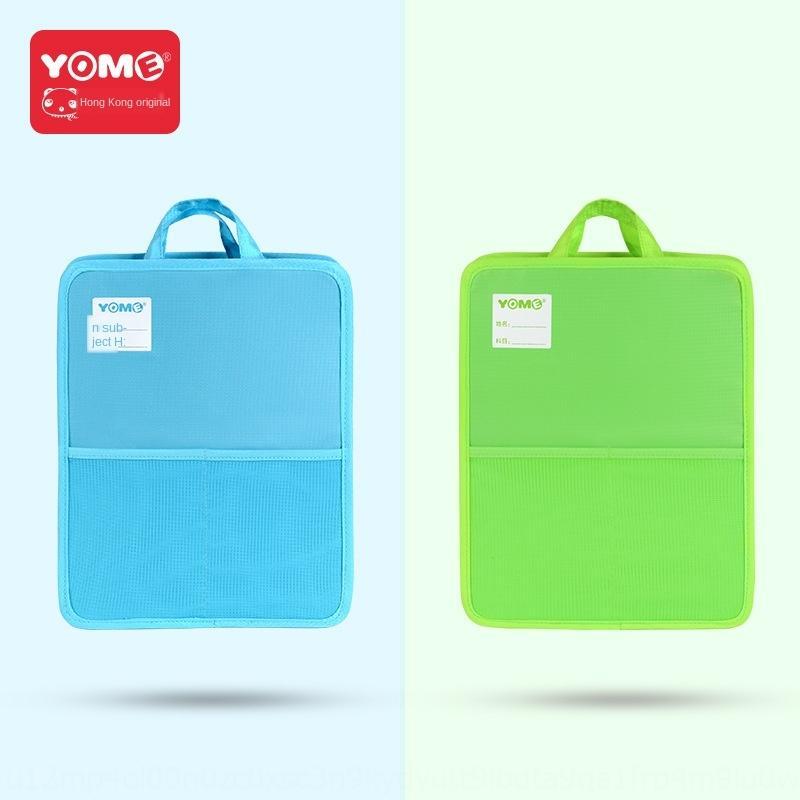 Yome Studie Schule Grundschüler Tutorial portable Buchtasche Lehrbuch Klassifikation Tasche Kinder Schulranzen
