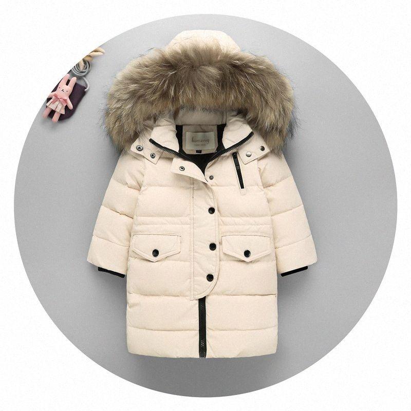 Yeni Yıl Giyim Beyaz Aşağı Ceket İnce Aşağı Ceket Kızlar Gençler Çocuklar Kış Duck Boy GuF3 # Dolum