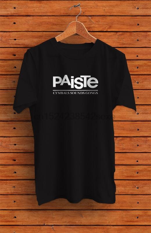 Paiste Cymbals Logo T-shirt XL S L 2XL 3XL