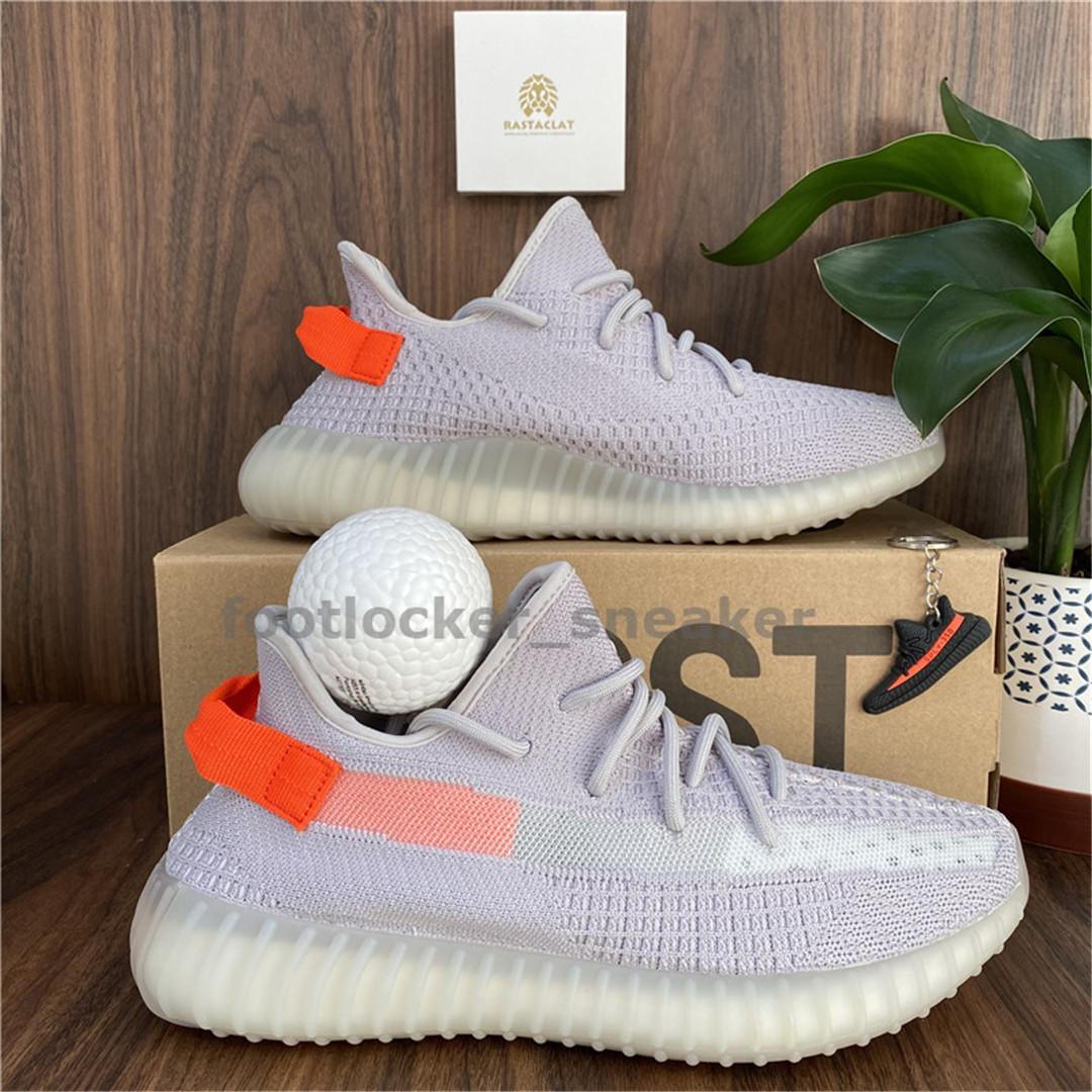 Para hombre de los zapatos corrientes de las mujeres Runner Sports zapatillas de deporte de Kanye West Cinder Triple Negro Israfil Beluga Yecheil Negrita Cola Light Orange Box V2 Doble